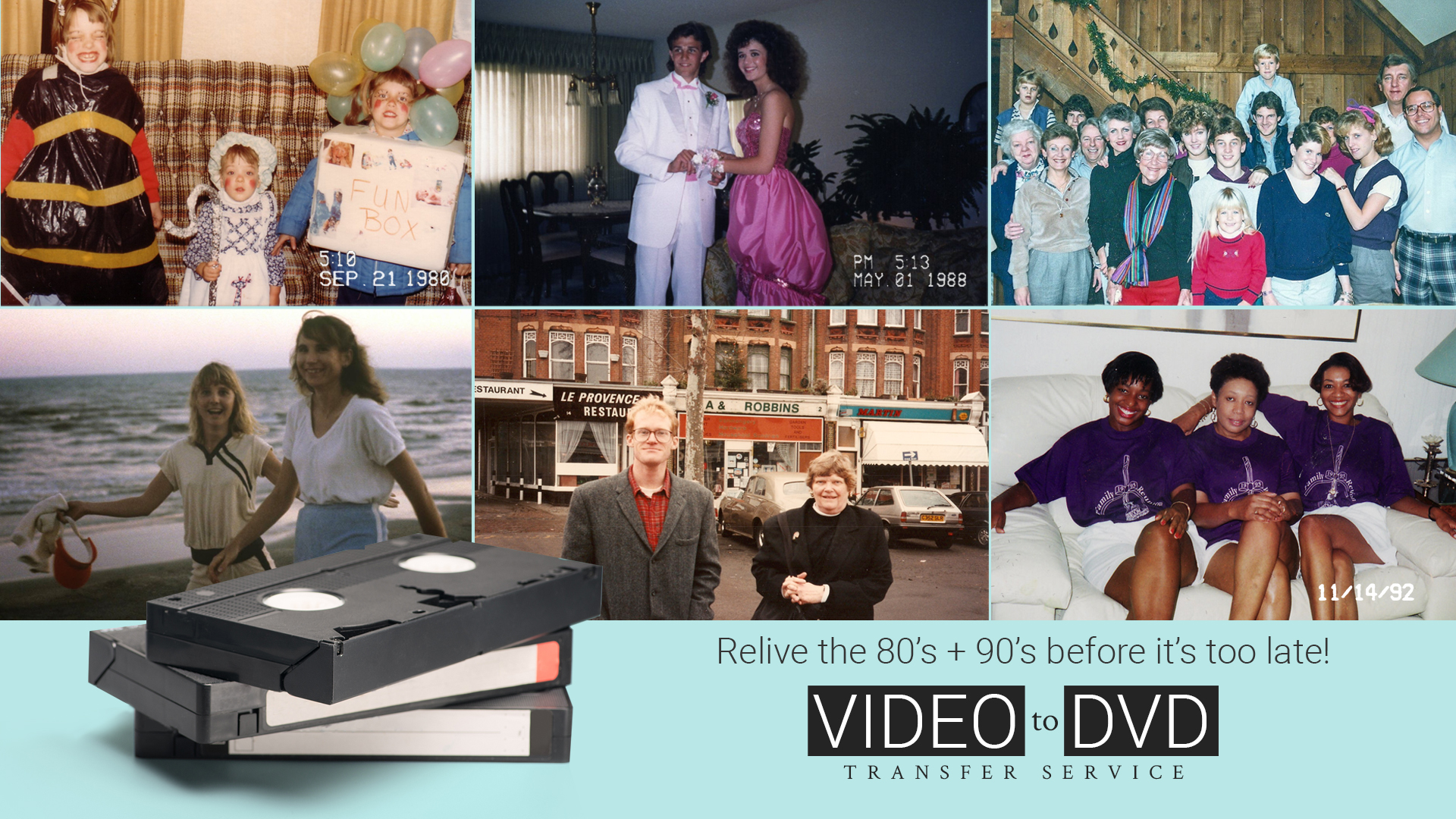 VideoMonitor-VHS to DVD
